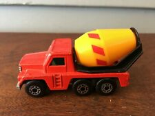 Vintage Matchbox Superfast 1976 Cement Truck #19