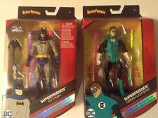 "DC Comics Multiverse 6"" Super Friends Green Lantern and Batman Action Figures"