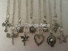 Silver Plated Mix Pendant Charm Necklace Chain Fashion Jewellery 10