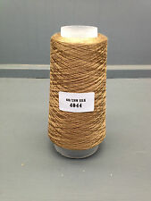 100G CAMEL BROWN COLOUR 2/60NM 100% FINE SILK YARN 4044