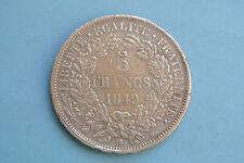 RARE 5 FRANCS CERES 1849 BB TTB    B1T5