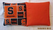 Syracuse University Cornhole 8 Bag set FREE SHIPPING!  Baggo Corn hole
