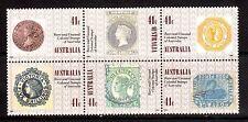 AUSTRALIA 1990 150 years of Aust stamps block MUH