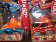 BNIB Fisher Price Rev 'N Go Stunt Garage + Muscle AND Race Cars Lot -Ages 3-7-