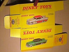 REFABRICATION BOITE PLYMOUTH BELVEDERE  1958  DINKY TOYS