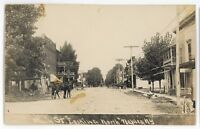 RPPC Main Street Laundromat NAPLES NY Finger Lakes Ontario Real Photo Postcard