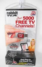 RABBIT TV - AS SEEN ON TV -  WATCH OVER 5000 FREE TV INTERNET CHANNELS