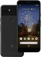 "Google Pixel 3A 5.6"" Display 64GB/4GB RAM GSM/CDMA Factory Unlocked - Just Black"