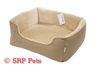 Gor Pets Ultima Bed - Beige Soft - SRP PETS - FAST & FREE UK DELIVERY