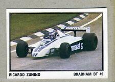F1 GRAND PRIX - Panini 1980 - Figurina-Sticker n. 57 - R.ZUNINO BRABHAM -New