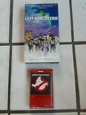 Ghostbusters VHS Digitally Remastered And Cassette Tape Lot