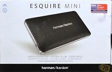 New Harman Kardon Esquire Mini Black Portable Wireless Speaker / Conf System