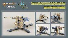 Merit 1/18 Flak 36 88 mm Tedesco Anti-AEREI GUN-costruito e dipinti # 60030