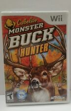 NEW Cabela's Monster Buck Hunter (Nintendo Wii, 2010)