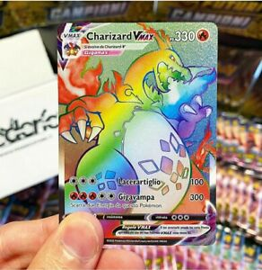 Rainbow Charizard in these Mystery Pokemon Custom Booster Pack! Read Description