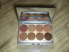 KRYOLAN DERMACOLOR light Palette 8 Farben Dark Makeup Schminke Foundation Dunkel