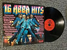 ABBA Lp 16 ABBA Hits 1976. V. G German Press