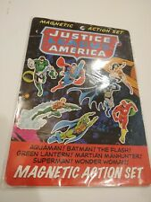 Justice League America Magnetic Action Play Set Unemployed Philosopher's Guild