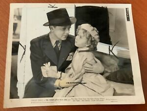 Shirley Temple 8x10 Poor Little Rich Girl photo with Jack Haley
