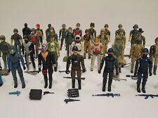 GI JOE Vintage Straight Arm 1982-1983 Figure Lot Set Cobra Commander, Scarlett
