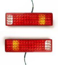 Paar 12V LED Rückleuchten Rücklicht Lampen LKW Volvo Scania MANN DAF 5 Funktion