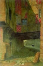 GEORGES TARDY (1885-1980) CORDES-SUR-CIEL Tarn Vaour F. Chalandre Nevers