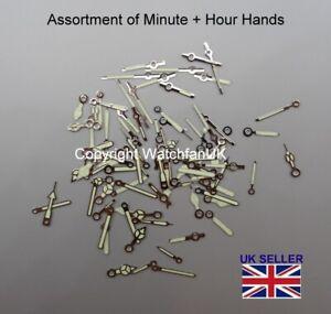 Assortment Of Hour + Minute Watch Hands (0.7/1.20) Fit Many ETA