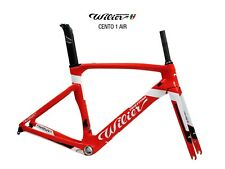 """New and genuine"" Wilier Cento1Air carbon road bicycle frame red/white size S"