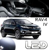 Toyota RAV4 4 6 Ampoules LED Blanc Habitacle intérieur plafonnier Coffre Miroirs