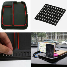 Silicon Car Dash Pad Mat Holder Phone Key Coin Card Mount Number Plate Universal