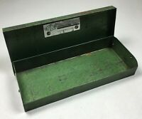 """Vintage S-K Tools Green Metal Tool Box for Ratchets Sockets SK 7"""" x 2-3/4"""" x 1"""""""