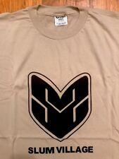 Vintage Slum Village - Trinity Promo T-Shirt (Size XXL) Baatin J-Dilla Jay Dee