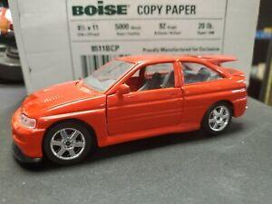 MAISTO 1/24 DIECAST CAR FORD ESCORT RS RED RARE!!! NO BOX