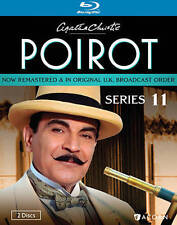 Agatha Christie's Poirot: Series 11 (Blu-ray Disc, 2014, 2-Disc Set)