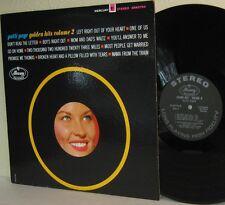 1963 PATTI PAGE LP Golden Hits Vol. 2 VG+ / VG+ Stereo Black Label