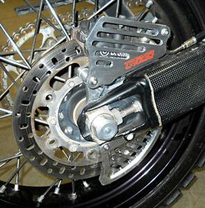 Rear Brake Disc-Caliper Guard for 2009-2012 KTM 950/990 Aventure by Topar Racing