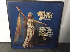Massenet Thais (Complete Opera) Beverly Sills Sherrill Milnes 3 LP Vinyl Records