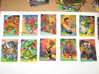 1995 Fleer ULTRA Spider-Man INSERT CLEAR CHROME 10 Card Set VENOM CLEARCHROME!
