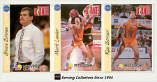 1992 Australia Basketball Cards NBL Factory Team Set North Melbourne Giants (12)