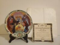 Knowles Wizard of Oz Collector Plate Ding Dong The Witch is Dead W Certificate