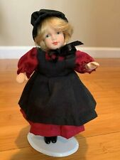 Vintage Bisque Gorgeous 8 inch Doll - Excellent Condition - History ?
