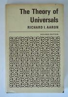 Richard I. Aaron THE THEORY OF UNIVERSALS 2nd ed. Oxford, 1967 HCDJ