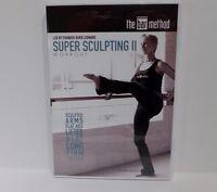 The Bar Method Super Sculpting II Workout DVD Burr Leonard Fitness Toning