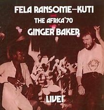 NEW Live With Ginger Baker (Audio CD)