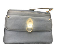 Rare MULBERRY Denim Clutch Bag - Baby Blue. New And Unused