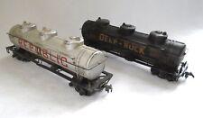 HO Scale Deep-Rock DRX 267 & Republic RPOX 8181 Triple Dome Tank Train Cars
