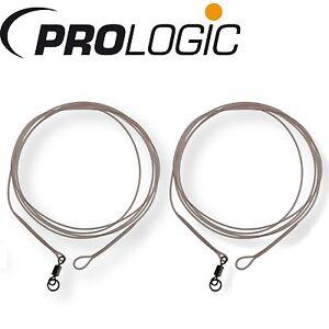 Prologic LM Mirage Loop Leader W/Ring Swivel 100cm - 2 Karpfenvorfächer