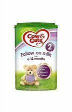 Cow & Gate 2 Follow on Milk 6m-12m 800g New