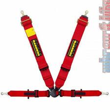 Schroth Pro II-FE ASM 4-point harnais ceinture de type Harnais Rouge à Gauche ausklinkbeschläge