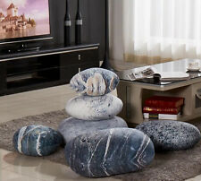 A set Patterned pebble stone pillow/pillowcases rock cushion/cushion covers new